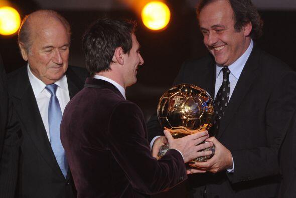 El argentino se unió a un selecto grupo, del que forma parte Michel Plat...