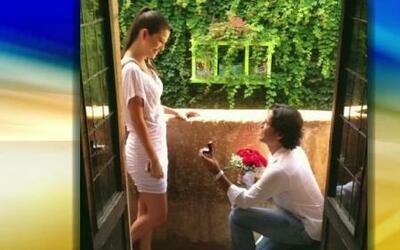 Ana Patricia se comprometió en matrimonio con su novio Luis Carlos