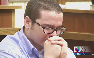 Contra todo mito, Michael Hernández lloró en el estrado
