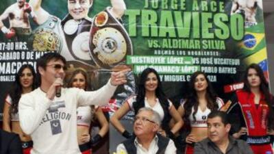 'Travieso' Arce seguro de derrotar a Santos (Foto: Zanfer)