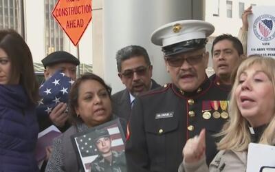 Incertidumbre por un militar hispano que podría ser deportado en cualqui...