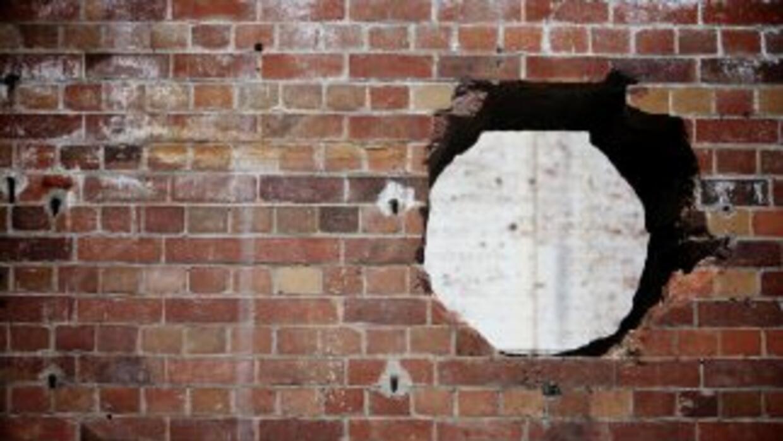 El cadáver fue escondido detrás de una pared en la casa en la que habita...