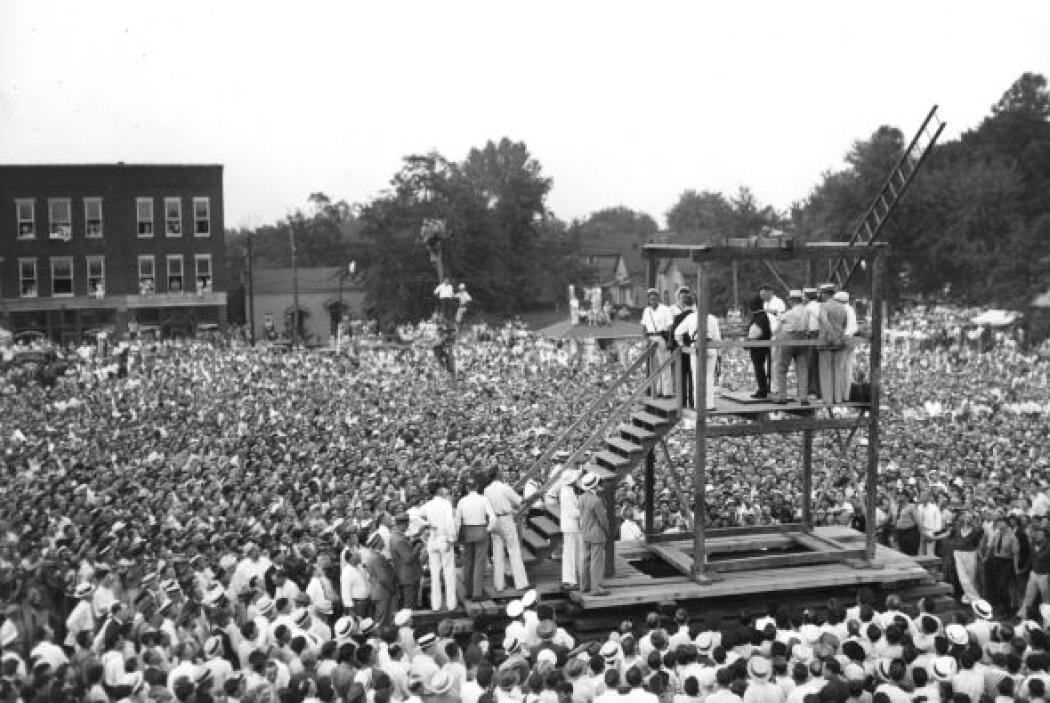 Cuesta creer que que hasta el siglo pasado se ahorcaban públicamente a l...