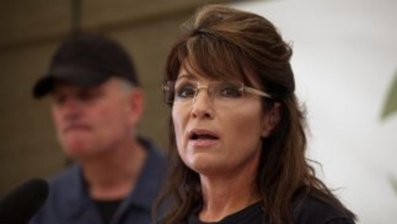 La ex gobernadora de Alaska, Sarah Palin.