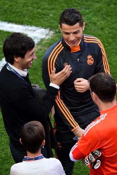 Durante la última edición del trofeo Santiago Bernabéu, que sirvió para...