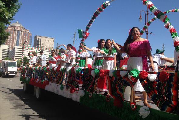 Por supuesto que no faltó la música tradicional mexicana,...