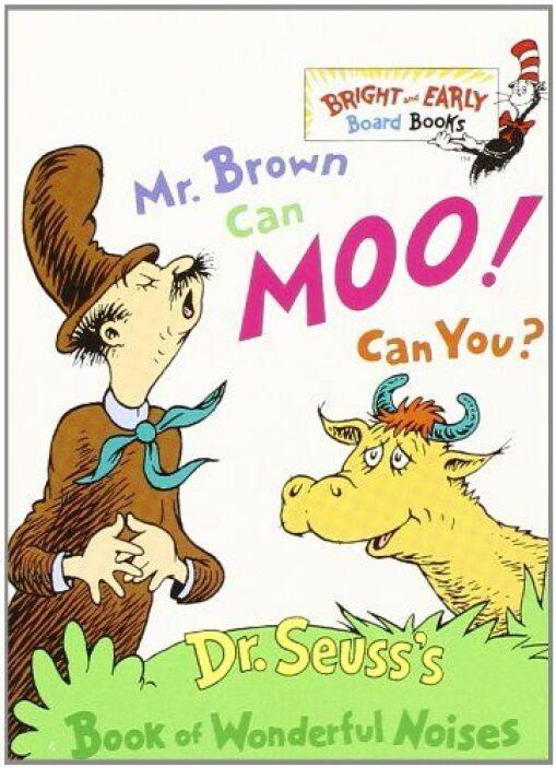 MR. BROWN CAN MOO, CAN YOU? - Los pequeños lectores que todavía están ap...