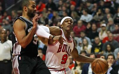 Los Spurs cayeron ante los Bulls y cortaron su racha