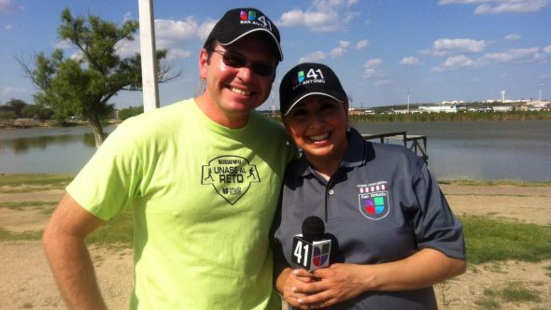 Univision 41 de San Antonio llevó Únase al Reto a Eagle Pass, Texas.