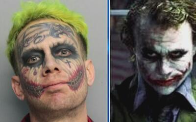Habla la madre del joven disfrazado de 'Joker' que fue arrestado por ame...