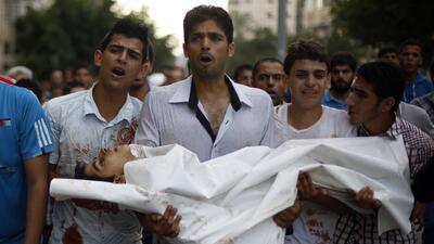 Los muertos en Gaza escalan a cifras alarmantes