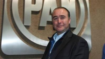El coordinador del PAN en la Cámara de Diputados, Luis Alberto Villarreal.