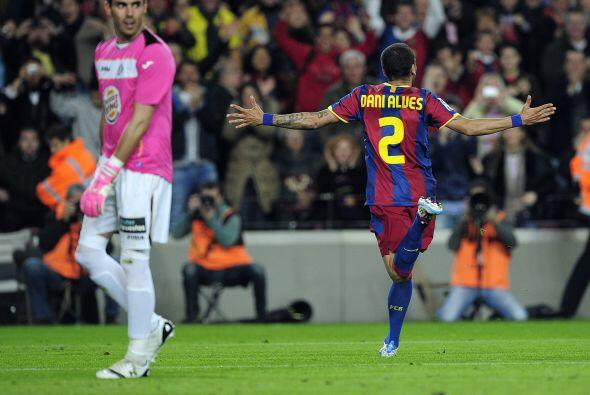 El lateral del Barcelona, además de su trabajo defensivo, se destapó con...