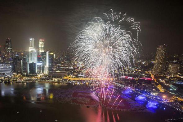 Singapur celebra en el año 2015 el 50 aniversario de su independencia de...