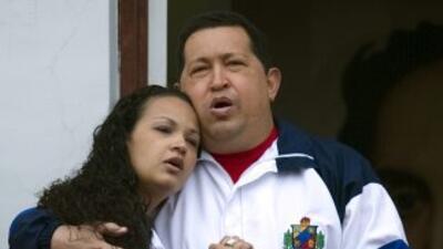 Rosa Virginia Chávez, hija de Hugo Chávez.