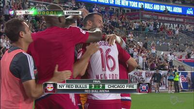 Red Bulls 3-2 Chicago Fire: NY remonta con gol de Klejstan en nocheemoci...