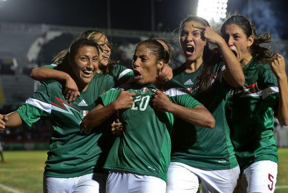 Con anotaciones de Charlyn Corral y Maribel Domínguez, la Selección Mexi...