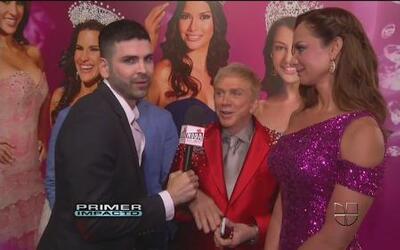 Jomari Goyso estuvo con los jueces de Nuestra Belleza Latina 2012