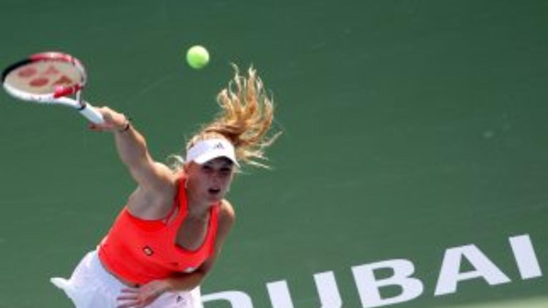 La favorita en Dubai, Caroline Wozniacki, peleará el título ante la rusa...
