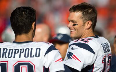 Mira el absurdo pase de 63 yardas que lanzó Tom Brady
