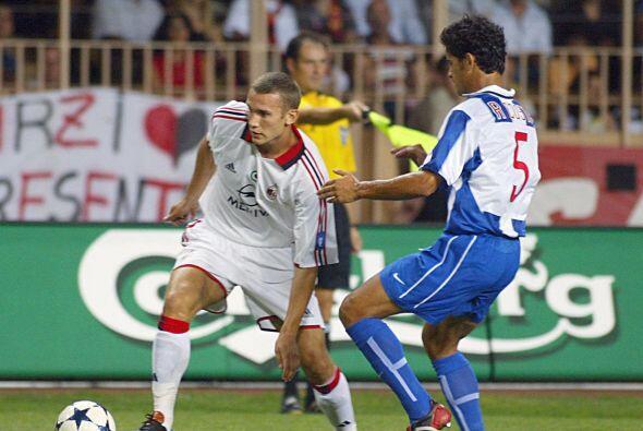En el 2003 el Milán levantaría la copa con un gol del ucra...