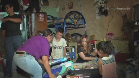 El sueño de una familia salvadoreña se hace realidad