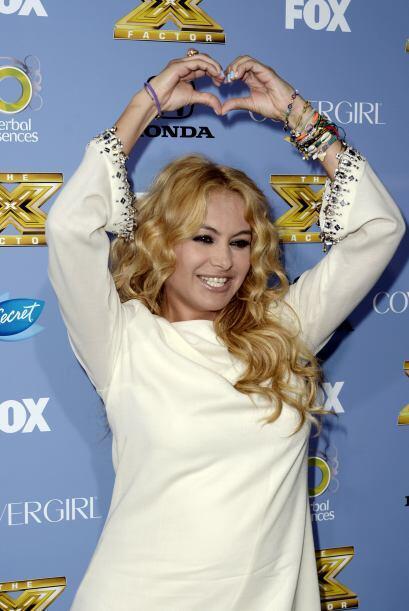 Paulina Rubio es una de las hispanas más reconocidas en todo el m...