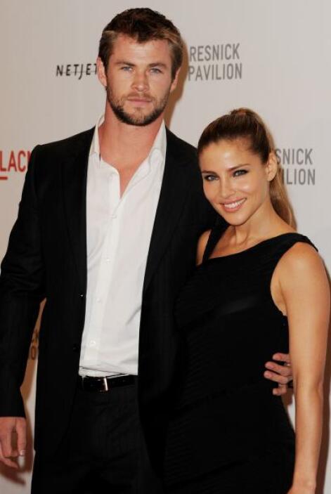 La actriz española Elsa Pataky contrajo matrimonio con el protagonista d...