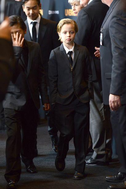 Y los chicos lucían geniales y formalitos.