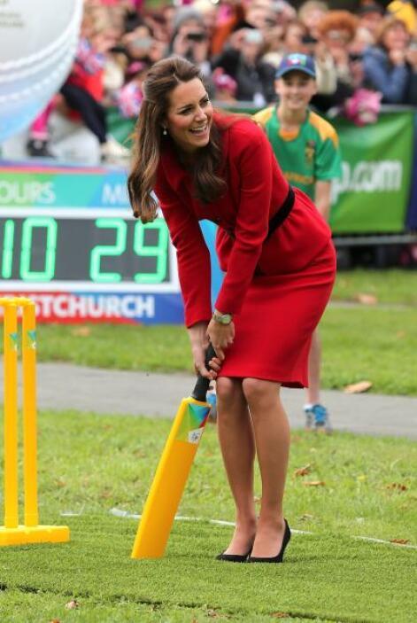 Es bien sabido que la duquesa es muy buena y competitiva para los deport...