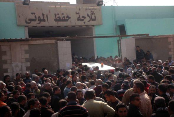 Más de 200 personas resultaron heridas en los enfrentamientos que se pro...