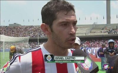 """Israel Castro: """"El equipo se murió en la cancha"""""""