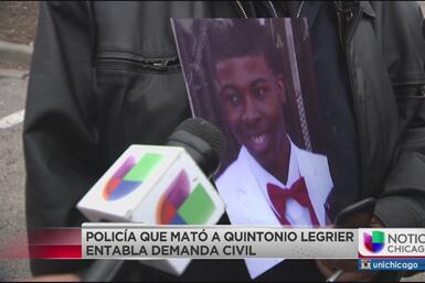 Policía que disparó a Quintonio LeGrier y Bettie Jones entabla demanda c...