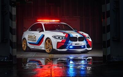 BMW M2, el safety car para la competencia MotoGP