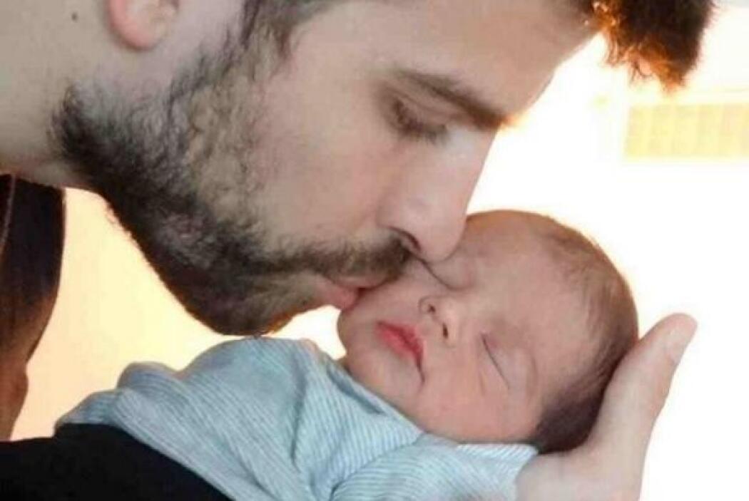 Se dice que la pareja festejó que su pequeño Milán cumplió cuatro meses...
