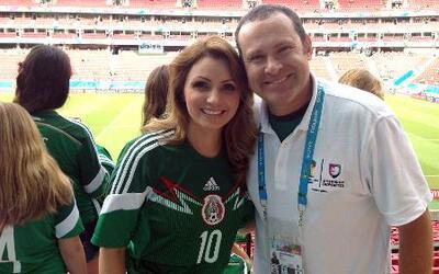 Angélica Rivera sorprendió a Alan Tacher en Brasil