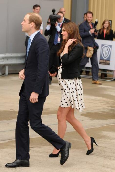Para su gran inauguración llegaron los duques de Cambridge, William y Ka...