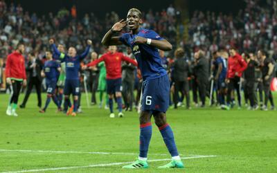 Así fue la simpática celebración de Paul Pogba tras su gol en la final d...