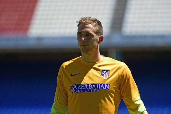 El esloveno Jan Oblak, llegó al Atlético de Madrid luego d...