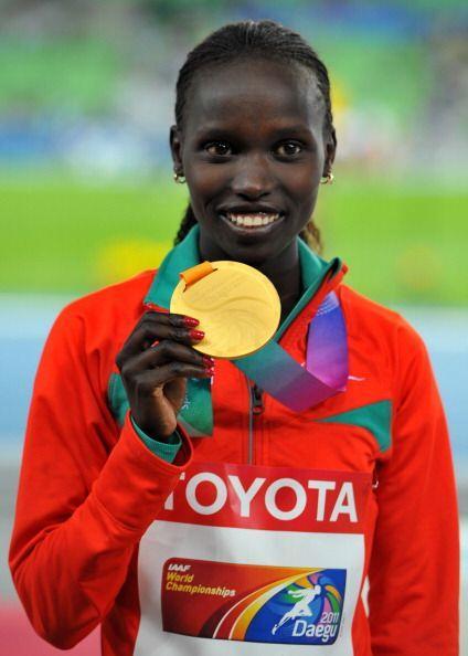 Vivian Cheruiyot, una atleta casi minúscula se ha eregido en giga...