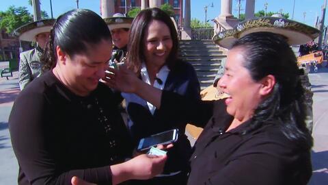 Jessica por fin podrá viajar a Panamá para ver a su madre gracias al Áng...