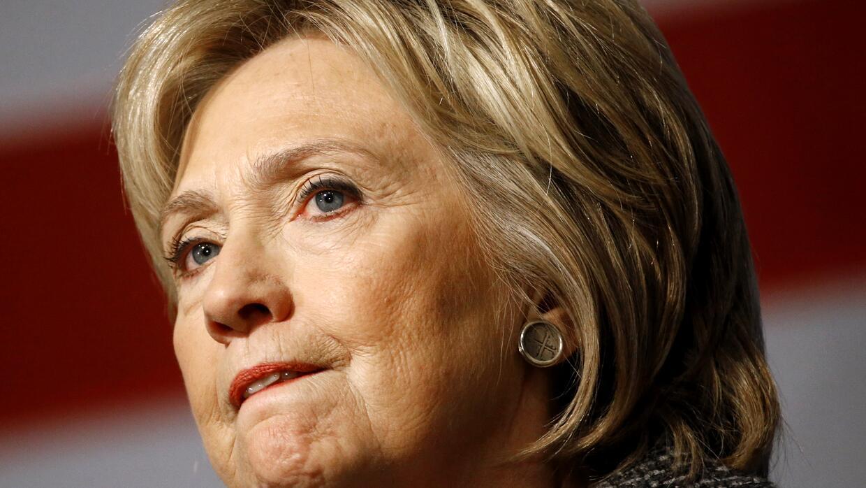 Hillary Clinton este lunes en Iowa