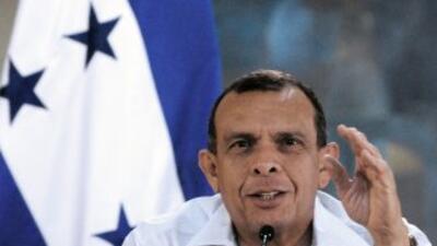 El presidente Porfirió Lobo dijo que con la anulación de juicios de corr...