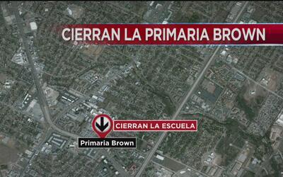 Primaria Brown cerrará sus puertas debido al reciente derrumbe de su est...