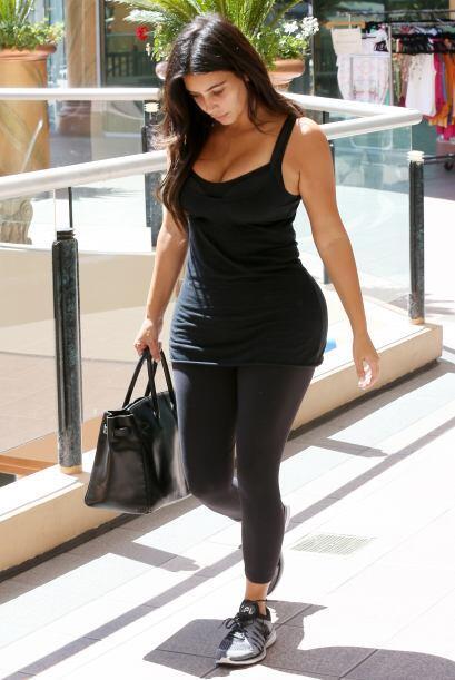Bellezas como Kim Kardashian recuperaron su figura después del em...