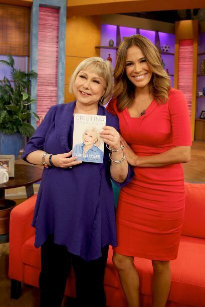 Karla estaba más que feliz de tener a una de sus presentadoras favoritas...