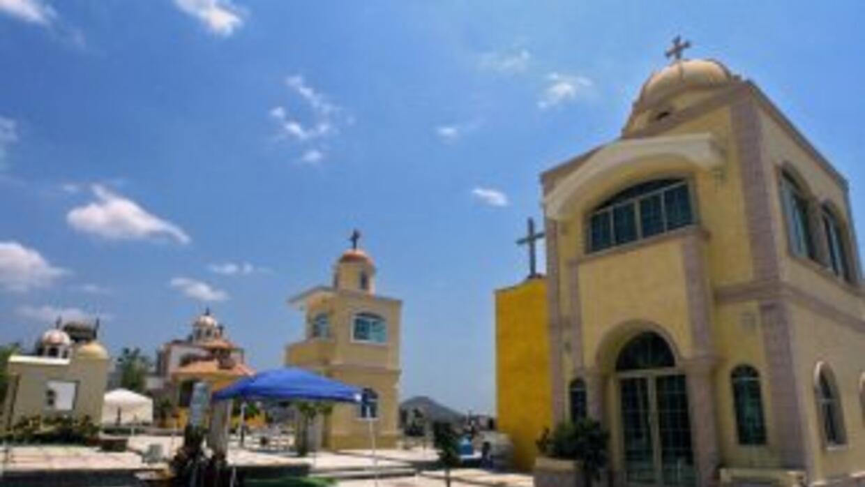 El cementerio de Culiacán, norte de México, es uno de los más claros eje...