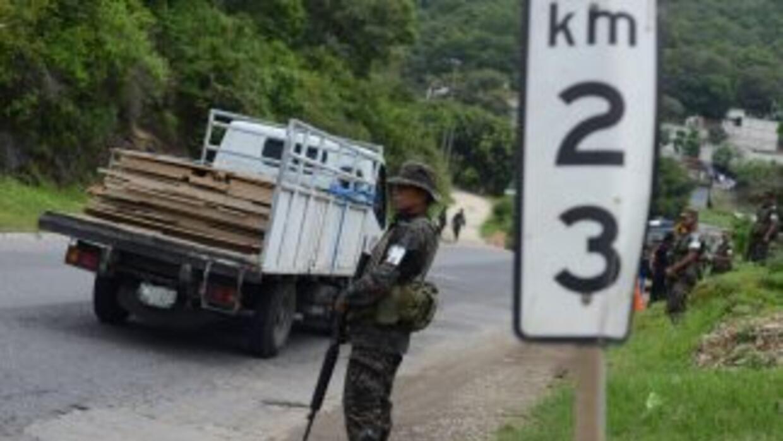 Violencia en Guatemala.