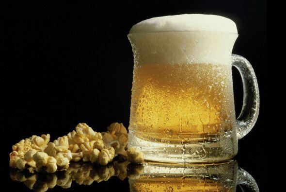 Para mariscos, la cerveza también es una buena opción.