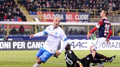 Empoli ganó al Bolonia